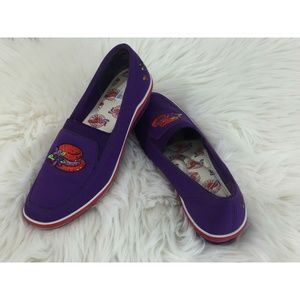 Grasshoppers by Keds Red Hat Society Purple Wedged